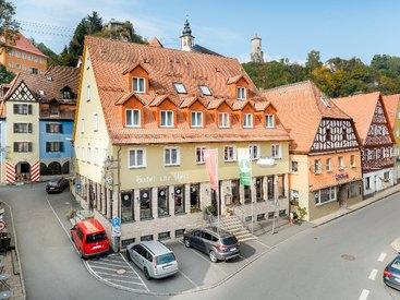 Das Hotel zur Post im historischen Waischenfeld
