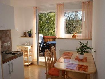 Bad Steben Ferienwohnungen Heger - Zur Hügelwiese, Küche
