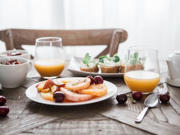 Frühstück im schönsten Garten von Nürnberg