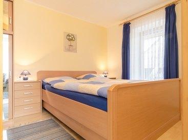 Schlafzimmer 2 in der Ferienwohnung 2 im Fritzerhof in Kleingesee bei Gößweinstein in der Fränkischen Schweiz