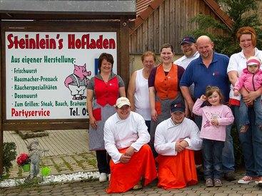 Steinleins Hofladen in Aufseß