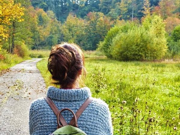 Herbstzeit ist Wanderzeit m Fichtelgebirge