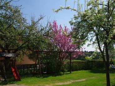 Ein Garten zum Spielen und Entspannen...