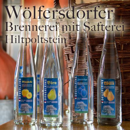 Wölfersdorfer Brennerei mit Safterei