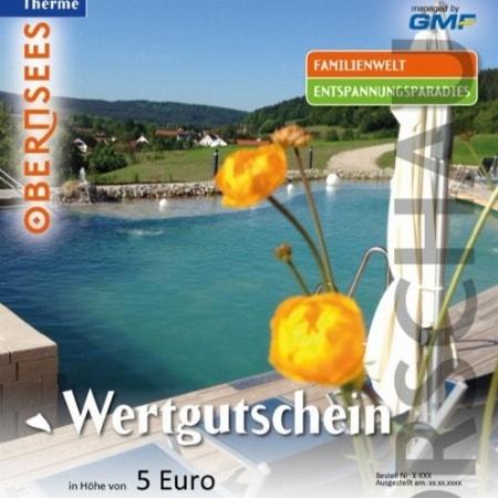 Nr. 1 - Angebot - Gutschein für die Therme Obernsees