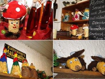 Bauer's Bauernladen handegemachten Nudelfiguren