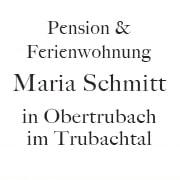 Logo Pension - Ferienwohnung Maria Schmitt