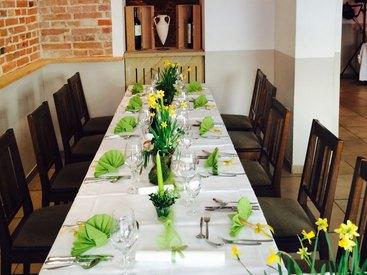 Feiern mit dem passenden Tischschmuck