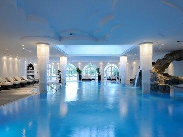 Felsenschwimmbad im Ising Spa & Wellness