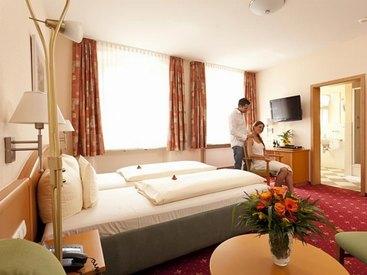 Juniorsuite  Hotel Goldner Stern in Muggendorf in der Fränkischen Schweiz