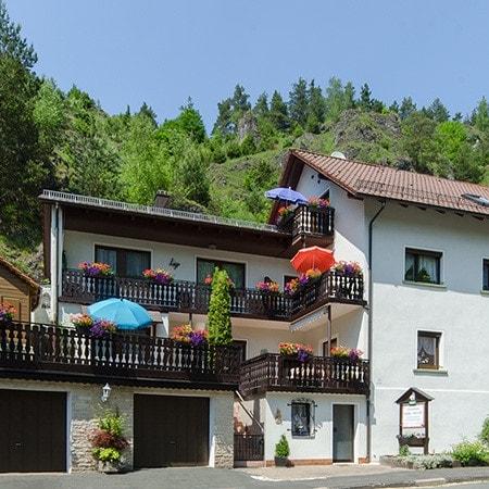 Gästehaus Wüst-Ritter in Pottenstein - Mariental