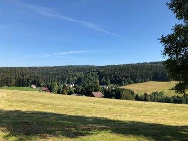 Ferienwohnung Häfner in Bischofsgrün im Fichtelgebirge - Ausblick