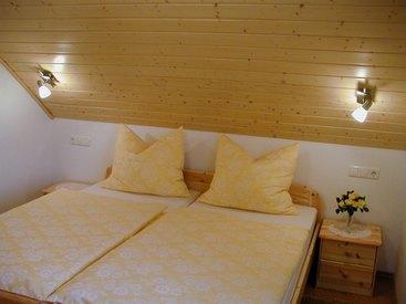 Schlafzimmer der Ferienwohnung Schultheiß