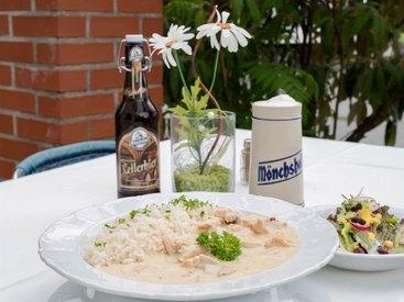 Bei uns essen Sie einfach lecker: Restaurant: Willkommen im Gasthof Opel in Himmelkron nahe der A 9 Berlin München
