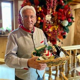 Der Geschenkkorb vom Goldenen Posthorn - Fränkische Spezialitäten zu Weihnachten
