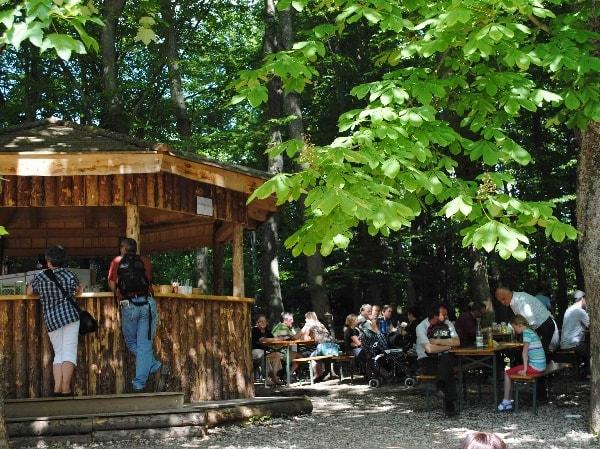 Ab 13. Mai öffnet wieder unser Biergarten auf Burg Rabenstein