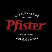 Logo Brauerei Gasthof Pfister
