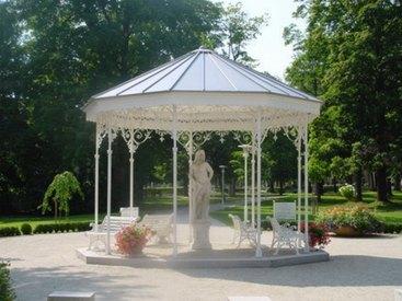Bad Steben Ferienwohnung Heger Pavillon im Kurpark