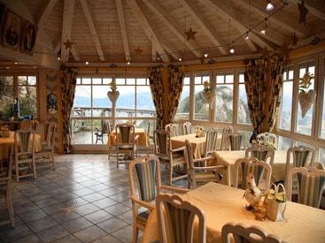 Pavillon des Kulinarium im Burghotel Falkenstein