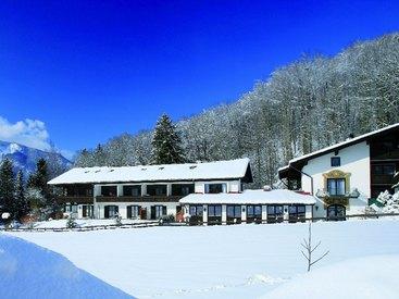 Landhotel Gabriele Unterwössen im Winter