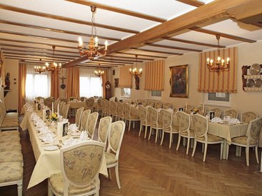 Festsaal im Hotel-Gasthof Resengörg