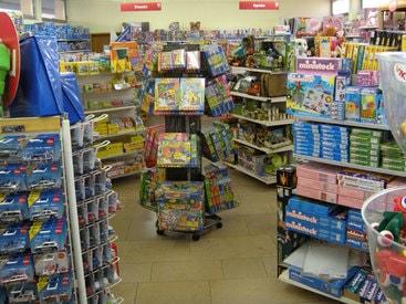 Große Auswahl an Spielwaren