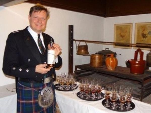 Whisky-Dinner Rare & Old im Waffensaal der Burg Rabenstein