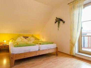 Ferienwohnung Grün Schlafzimmer