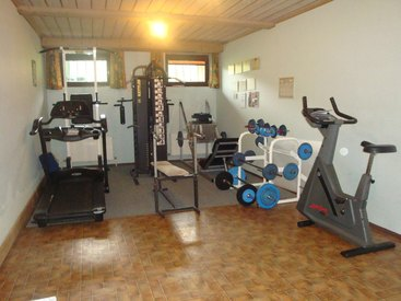 Fitnessraum für unsere Gäste