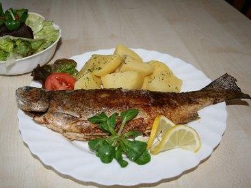 Unsere Spezialität Fischgerichte