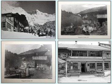 Berggasthof Gaisalpe - anno dazumal bis heute