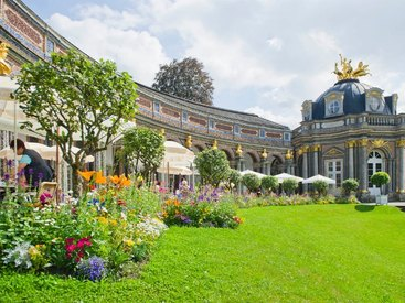 Cafe Orangerie in der Eremitage in Bayreuth