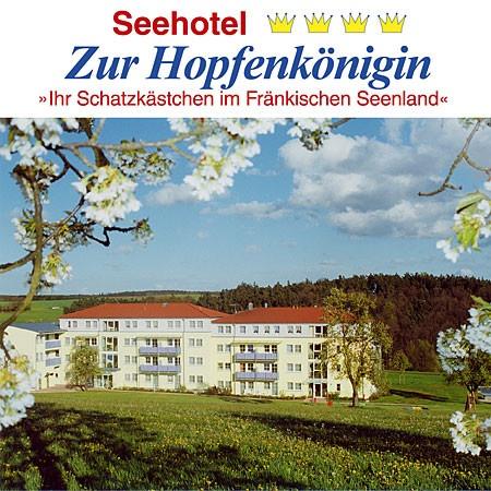 Seehotel Hopfenkönigin in Enderndorf am See bei Spalt