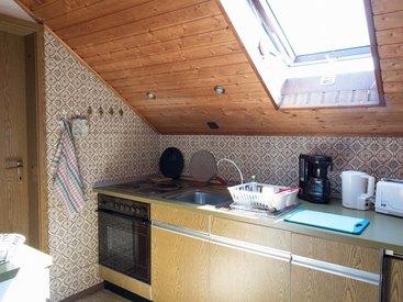 Frankenwald Ferienhaus Eisel Küche