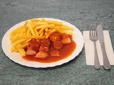 Currywurst, auch Super Scharf !!!