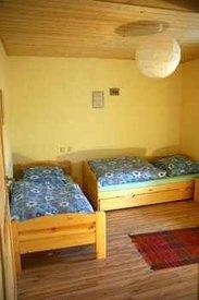 Das kleine Schlafzimmer unserer Ferienwohnung