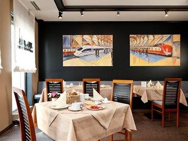 Frühstücksraum im Hotel