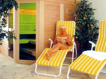 Sauna-/Dampfbad im Seehotel