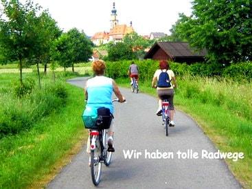 Der Radweg nach Kulmbach