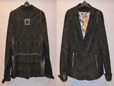 Ein echter Hingucker - Spitzen-Jacke aus der Kollektion L+F Creation bei Modetreff Marlies in Oberstaufen
