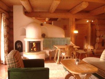 Alpenchalet Naturstammhaus