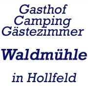 Logo Gasthof-Campingplatz Waldmühle