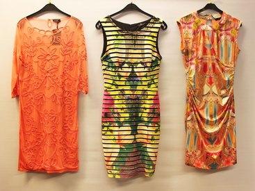Kleider luftig, leicht in modernen Farben und Designs bei Modetreff Marlies in Oberstaufen