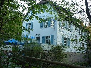 Hausansicht Gasthof Waldmühle