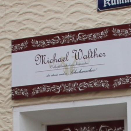 Michael Walther – Orthopädieschuhmachermeister