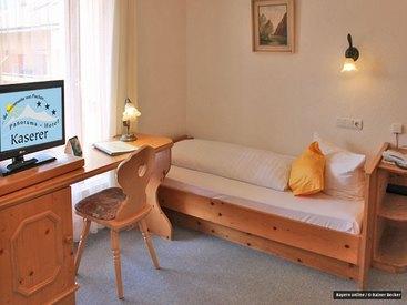 Es erwarten Sie Einzel-, Doppel-, Mehrbett- und Familienzimmer