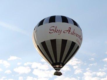 Eine Ballonfahrt mit Sky Adventure