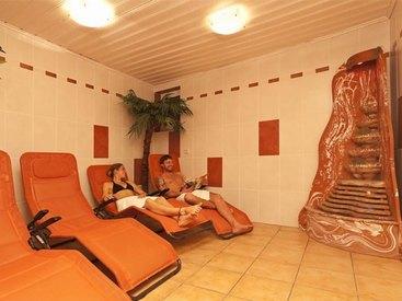 Ruheraum im  Hotel Goldner Stern in Muggendorf in der Fränkischen Schweiz