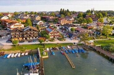 Gästehaus Grünäugl am See - Luftbild