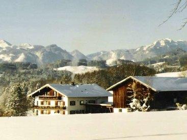 Donauerhof in Frasdorf - im Winter